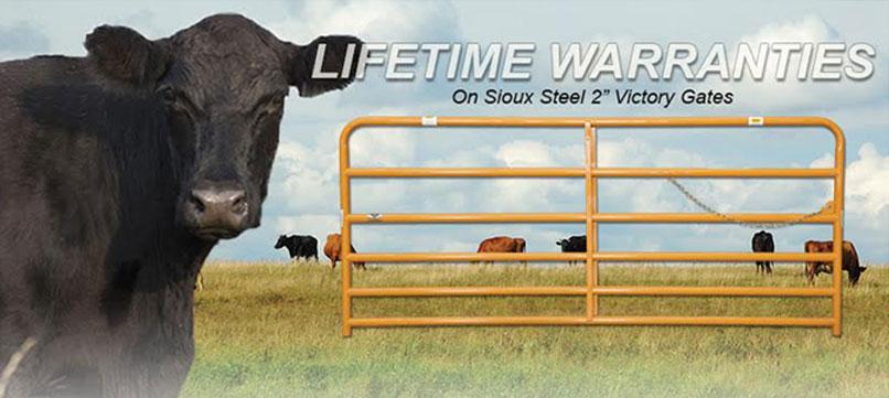 Sioux Steel Lifetime Warranties